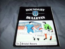 Oldham Athletic v Bristol Rovers, 1972/73